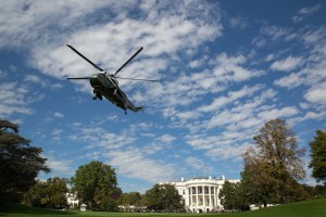 President Donald J. Trump depart the White House en route Joint Base Andrews Wednesday, October 25, 2017, on the South Lawn of the White House in Washington, D.C. (Official White House Photo by Shealah Craighead)